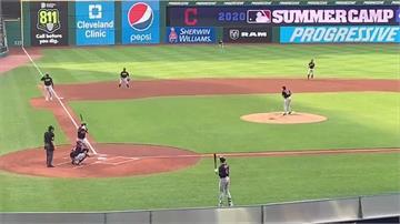 MLB/張育成狙擊球隊王牌 夏訓第六轟全隊最多
