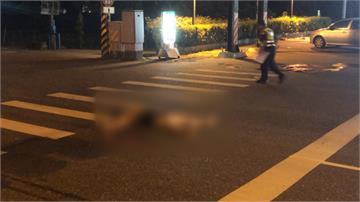 警察、店員勸不聽!醉男執意躺馬路遭輾斃