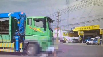 快新聞/高雄大貨車右轉釀禍 七旬翁騎單車遭輾過身亡