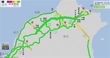 快新聞/大年初四北返車潮湧國道 午後車流暴增13個路段易壅塞