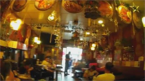 10多名移工群聚餐廳內用 沒梅花座又沒隔板! 稽查員警傻眼