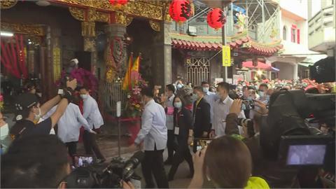 白沙媽起駕遶境 蔡總統祈求台灣挺過缺水危機