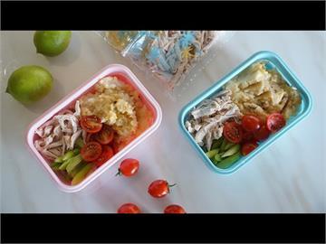 冰箱拿出就能吃!天氣熱到沒胃口 7步驟做「馬鈴薯雞絲冷便當」退火