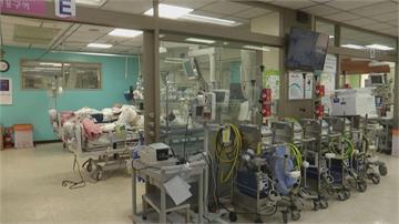 南韓單日確診再度破千 首爾武肺ICU病床只剩一床