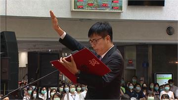 快新聞/陳其邁宣誓就職 承諾「捲起袖子」力行「四大優先」