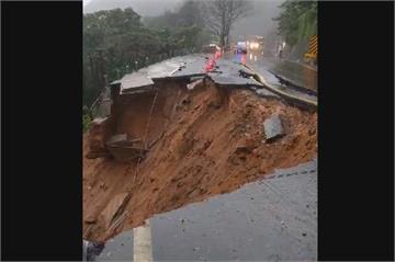快新聞/多日降雨釀陽金公路8.4K坍方! 公路總局:搶修中請改道