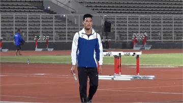 亞運/楊俊瀚田徑100公尺決賽10秒17排第五 無緣獎牌