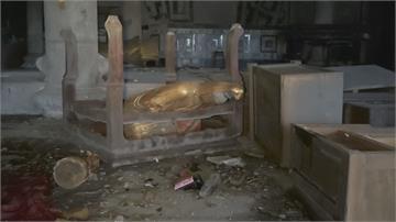 廢棄宮廟成治安死角! 年輕人夜半試膽 踹神像翻神桌