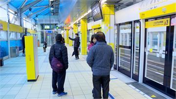 新北環狀線試乘首日 記者實測「站外轉乘」花費時間