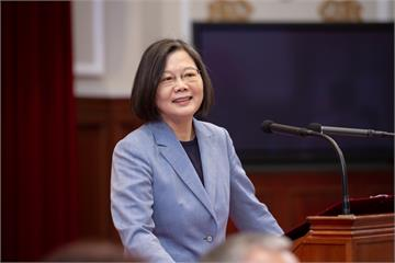 快新聞/蔡英文:將台灣打造為亞洲綠能中心 可和歐洲國家合作「打進國際盃」