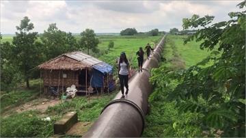 走在大水管上健行!70公里長看盡緬甸城鄉光景
