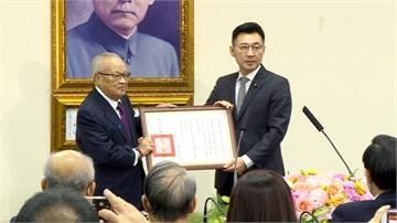 江啟臣就任國民黨黨魁 副手連勝文、廖了以出任呼聲高