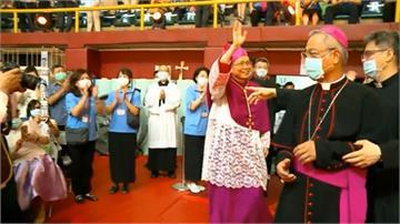 天主教台北總主教就職 鍾安住:教宗一直關心台灣