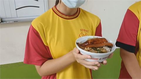 雲林口湖國中營養午餐加菜 吃得到「蒲燒鰻」