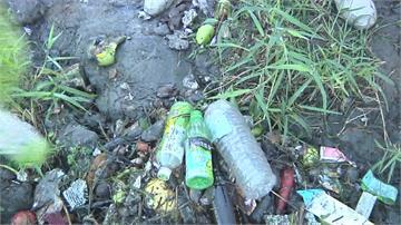 吉安溪牲畜屍體「放水流」今年攔截百公噸漂流垃圾