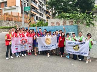 台北網路扶輪社連八年持續送愛!協助改善陽明養護中心通訊設備
