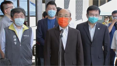 快新聞/全國三級警戒擬延長至7/26 蘇貞昌:鬆綁要適度就要做出適當指引
