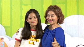 王彩樺帶女兒大啖竹筍美食 對抗夏日透心涼