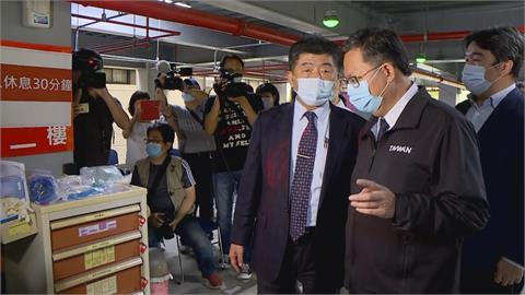 快新聞/「桃園防疫壓力大」 陳時中讚與鄭文燦合作佳:把破口一一補起來