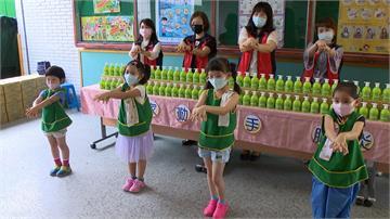 企業家採購2200瓶洗手乳 捐贈三重地區學校