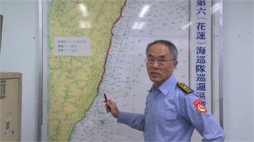 快新聞/F-16戰機搜救今範圍「奇萊鼻以北三棧溪以南」 海巡副隊長:目前未發現殘骸