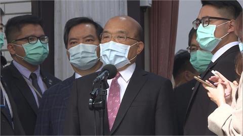 快新聞/中國阻法國參議員組團訪台 蘇貞昌:只是讓全世界更看不起