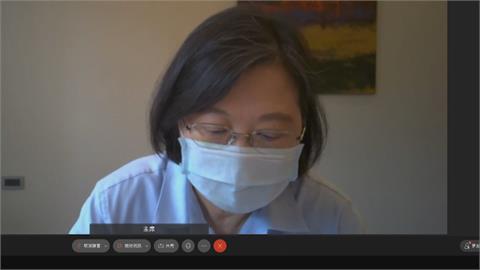 蔡總統臉書呼籲團結抗疫 掛保證近3千萬劑疫苗將陸續到貨