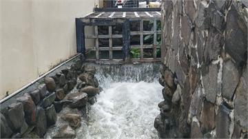 韓國瑜改景觀池成防洪池 引正反意見陳其邁實地勘查 加碼改善整體環境