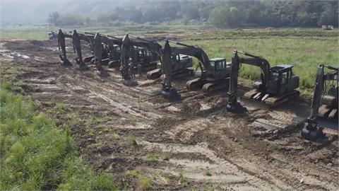 10水庫清出1650萬立方米淤泥 如三座寶山水量
