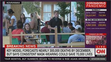 美國俄亥俄州州長確診 研究預測12月前死亡恐達30萬人 呼籲戴罩降死亡