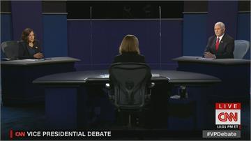 美副總統辯論會登場 雙方激辯堪稱「有文明」對戰