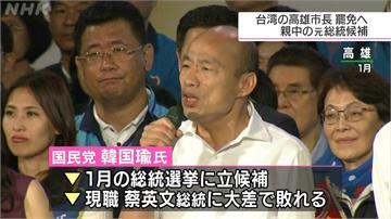 韓國瑜遭罷免「加速國民黨衰弱」 日媒:親中為致命點