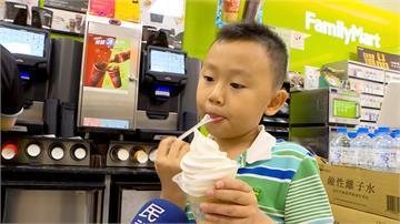 台北38.5度7月史上第二高 超商推各種創意冰品