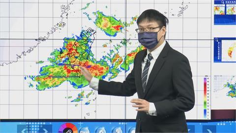 快新聞/雨彈猛炸! 氣象局: 11縣市豪、大雨特報「午後台北防大雷雨」