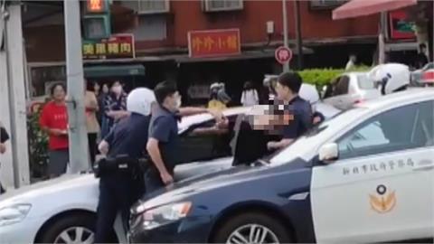 監護權衝突!男撂人開車撞前女友 警到場...還想撞警車