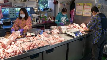 萊豬進口效應擴大!國產豬悄漲價  肉攤無奈說需求變大 至少漲一成左右