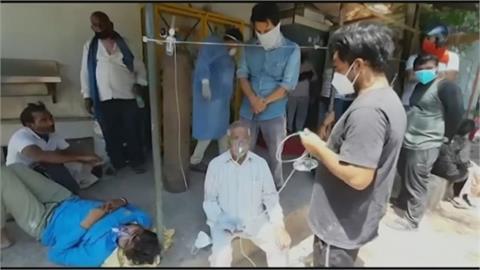 快新聞/印度單日染疫人數創新高 今新增近38萬例確診3645死