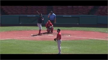 MLB/台將春訓表現亮眼!林子偉首度守一壘 張育成又敲全壘打