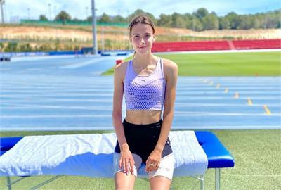 19歲烏克蘭跳高美少女奧運前跳出世界紀錄 金髮長腿猶如莎拉波娃
