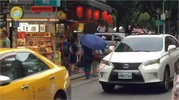 雨傘、報紙遮掩!中國竊盜集團遊台專偷日客