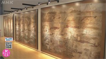東京博物館VR看國寶 近千年屏風畫「動起來」