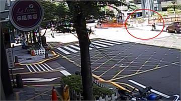 吃藥精神不濟?老翁開車衝上人行道撞死清潔婦
