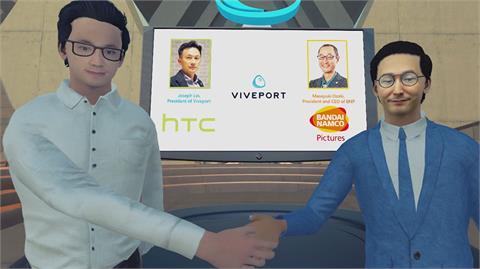動漫/HTC宣布與萬代南夢宮影業合作 發展VR動畫內容