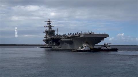 遼寧艦故意於我國周邊演訓 美軍羅斯福號航母打擊群開進南海