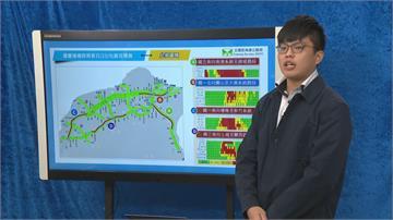 快新聞/國慶連假首日國道上午湧車流 高公局預估下午3時陸續紓解