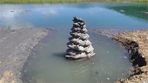 「九蛙見客」奇景不再!日月潭九蛙終於有水喝