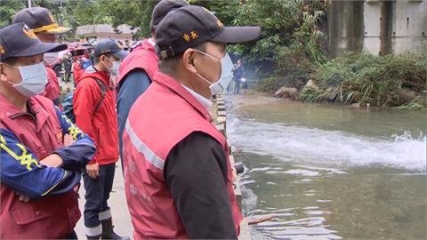 虎豹溪第三日3百人投入搜尋 仍未發現2名孩童