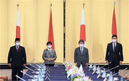 劍指中國 日本和印尼誓言加強安保合作