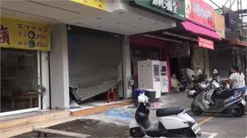 嫌稱消費糾紛 潑漆又開貨車衝撞飲料店