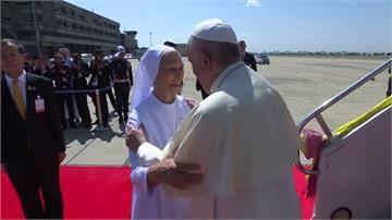 教宗出訪亞洲首站泰國 修女表妹迎接